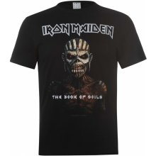 Amplified Clothing Iron Maiden T Shirt Book Of Souls
