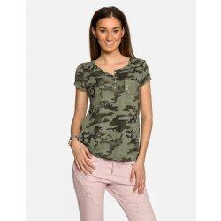 314452edaa3c Dámské army tričko s kapsičkou Khaki Calzanatta 7762 alternativy ...