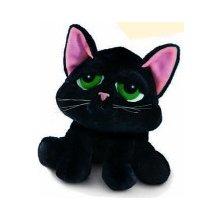 Přívěsek na klíče kočka černá