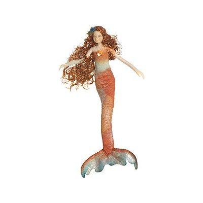 ISISS Mořská panna korálově červená MM 002