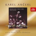 Česká filharmonie/Ančerl Karel - Ančerl Gold Edition 3 Mendelssohn-Bartholdy / Bruch / Berg : Koncerty pro housle a orchestr CD
