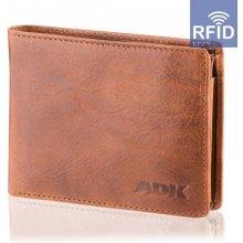Pánská peněženka Tripolis RFID, hnědá DK-085