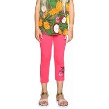 Desigual růžové dívčí legíny Floral 884ee5598cb