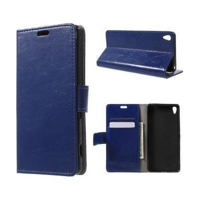 Pouzdro Horse PU kožené Sony Xperia XA - modré