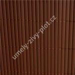 Plot z umělého bambusu BAMBOO MAT - B, role výška 2m x 3m, 6m2