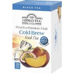 Ahmad Tea Cold Brew Iced Tea Peach & Passion Fruit 20 x 2 g