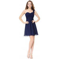 4e32a47fb272 Ever Pretty šifonové šaty krátké 3535 tmavě modrá alternativy ...