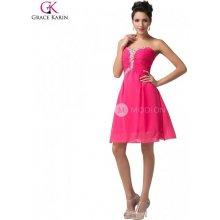 bdf79d8a0c08 Grace Karin společenské šaty CL6136 růžová