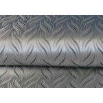 Látka na závěsy Brokát stříbrná metráž 150 cm