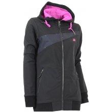 Alpine Pro Marchita softshell bunda černá