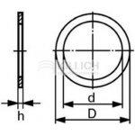 těsnící kroužek 14x18x1.5 Cu-měď DIN 7603