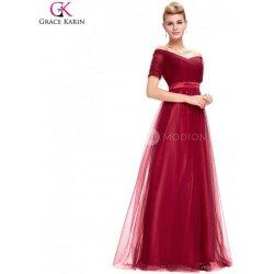 af4449d8845 Grace Karin společenské šaty večerní BORDO GK000077-2 Červená ...