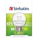 Verbatim LED žárovka E27 220-240V 4.5W 250lm 2700k teplá bílá