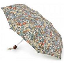 Fulton dámský skládací deštník William Morris Minilite 2 GOLDEN LILY SLATE MANILLA L757