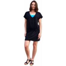Jožánek kojicí a těhotenské šaty černé