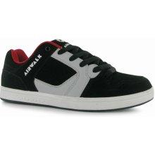 Airwalk Metalhead pánské Skate Shoes Black/Grey/Red