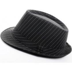 c11178b4a1f Pánský klobouk Classic černý pruhovaný alternativy - Heureka.cz