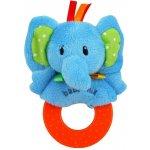 Baby Mix plyšové chrastítko slon