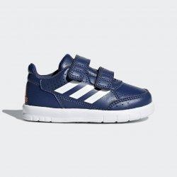 f2fcf3a538c Dětská bota Adidas Alta Sport CF K BA7459 Bílé-Černé