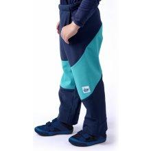 8d118fb1826 Dětské softshellové kalhoty (modro tyrkysové)