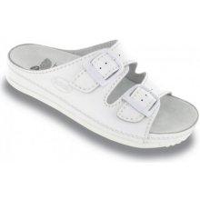 Scholl AIR BAG bílé zdravotní pantofle