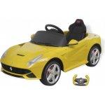vidaXL dětské auto Ferrari F12 žluté 6 V s dálkovým ovládáním