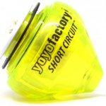 YoyoFactor Short Circuit spintop Energia Žlutá