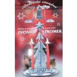 Tradiční andělské zvonění Stromek, stříbrná
