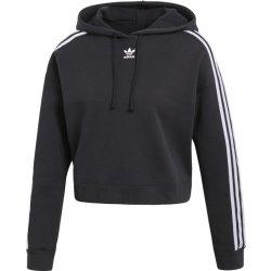 Adidas Cropped Hoodie černá. Od značky adidas přichází dámská mikina ... 5d276a1e52