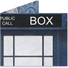 Peněženka Blue Police Box 1