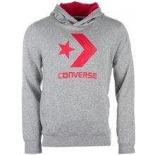 Converse Mens Chuck Patch Crew Sweatshirt Red