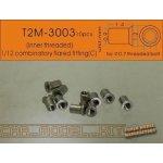 T2M Combinatory Flared Fitting C inner threaded