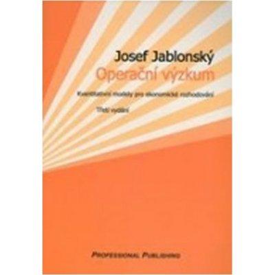 Operační výzkum - Josef Jablonský
