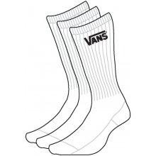 Vans CLASSIC CREW ponožky bílá