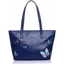 England Butterfly Shopper navy