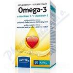 Biotter Omega 3 s vitaminem E 500mg 60 cps.