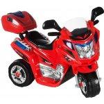 Kids World dětská elektrická motorka Rallye červená