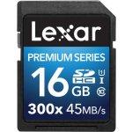 Lexar Platinum SDHC 16GB II UHS-I LSD16GBBEU300