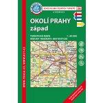 Mapa KČT 1:50 000 36 Okolí Prahy-západ (7.v.2017)
