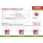 MORA BENEFIT SERVIS 5 let