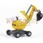 Rolly Toys odrážedlo bagr Digger žlutý