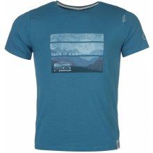 Chillaz Take Time Tee Shirt Mens Blue