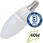 Tipa LED žárovka C37 E14/230V 5W bílá teplá svíčka