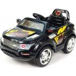 chuchu Elektrické auto SUV Roverek mini černý