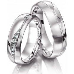 Luxusni Snubni Prsteny Z Chirurgicke Oceli Oc1044 Od 3 600 Kc