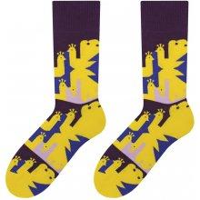 Veselé pánské ponožky Peacock žluté cca3be9d0f