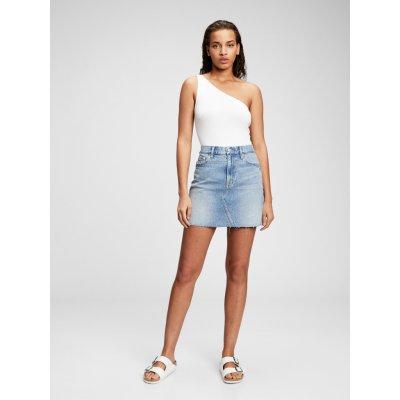 GAP džínová sukně Pocket modrá