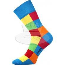 010fa5fef64 Lonka pánské barevné ponožky Decube modrá