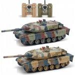RCobchod Velké soubojové tanky Leopard 2A6 2ks v balení