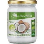 Zdravý den Olej kokosový Bio Raw 450ml